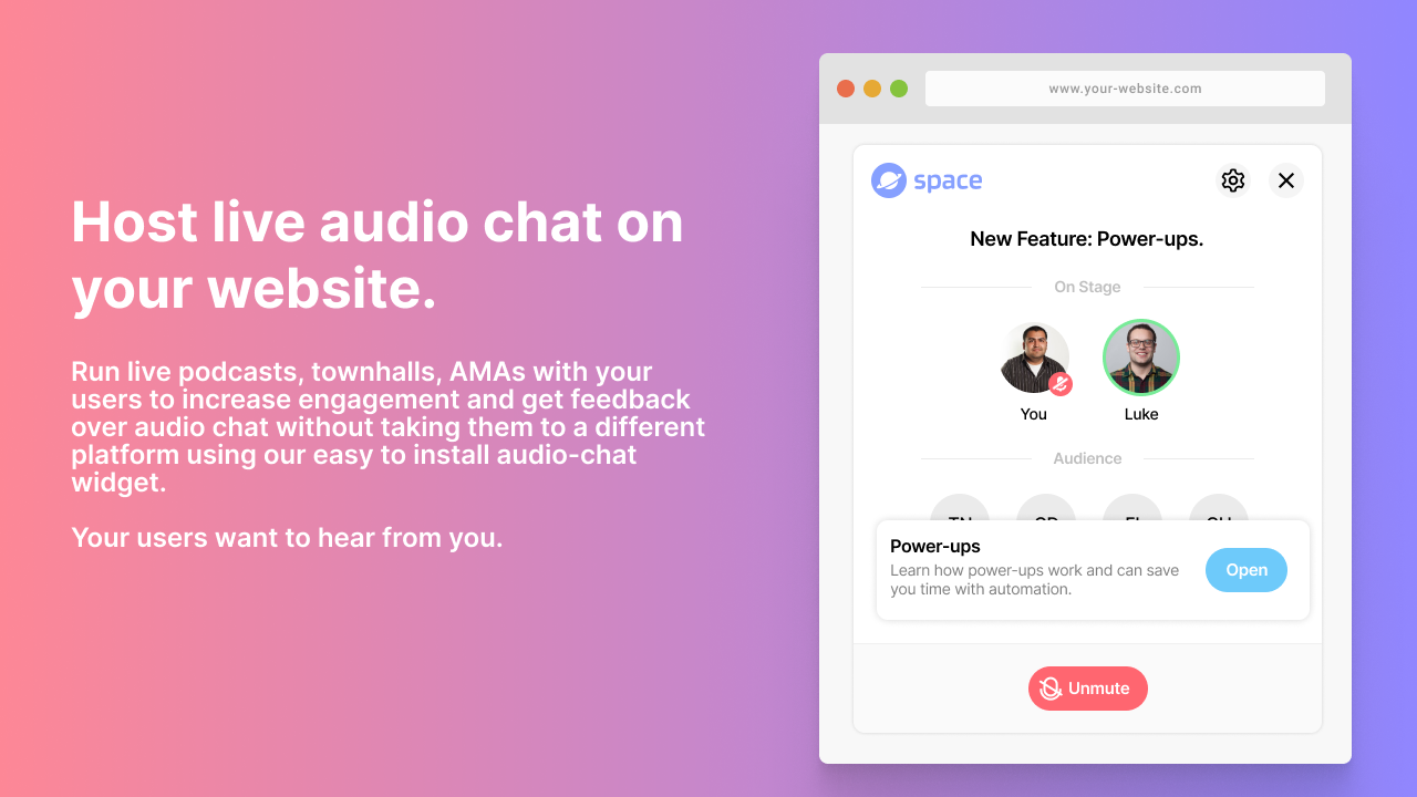Make Easier For Your Customers to Talk To You Using Intercom Audio Chat